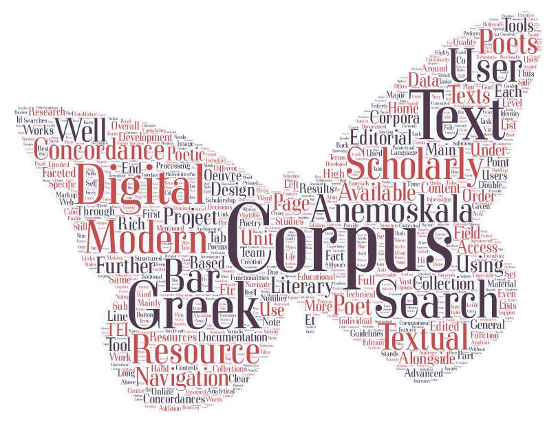 Anemoskala: corpus and concordances for major Modern Greek poets