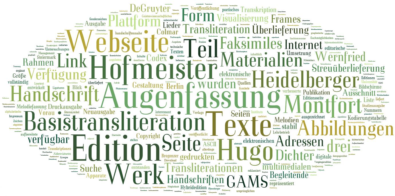 Hugo von Montfort: Das poetische Werk