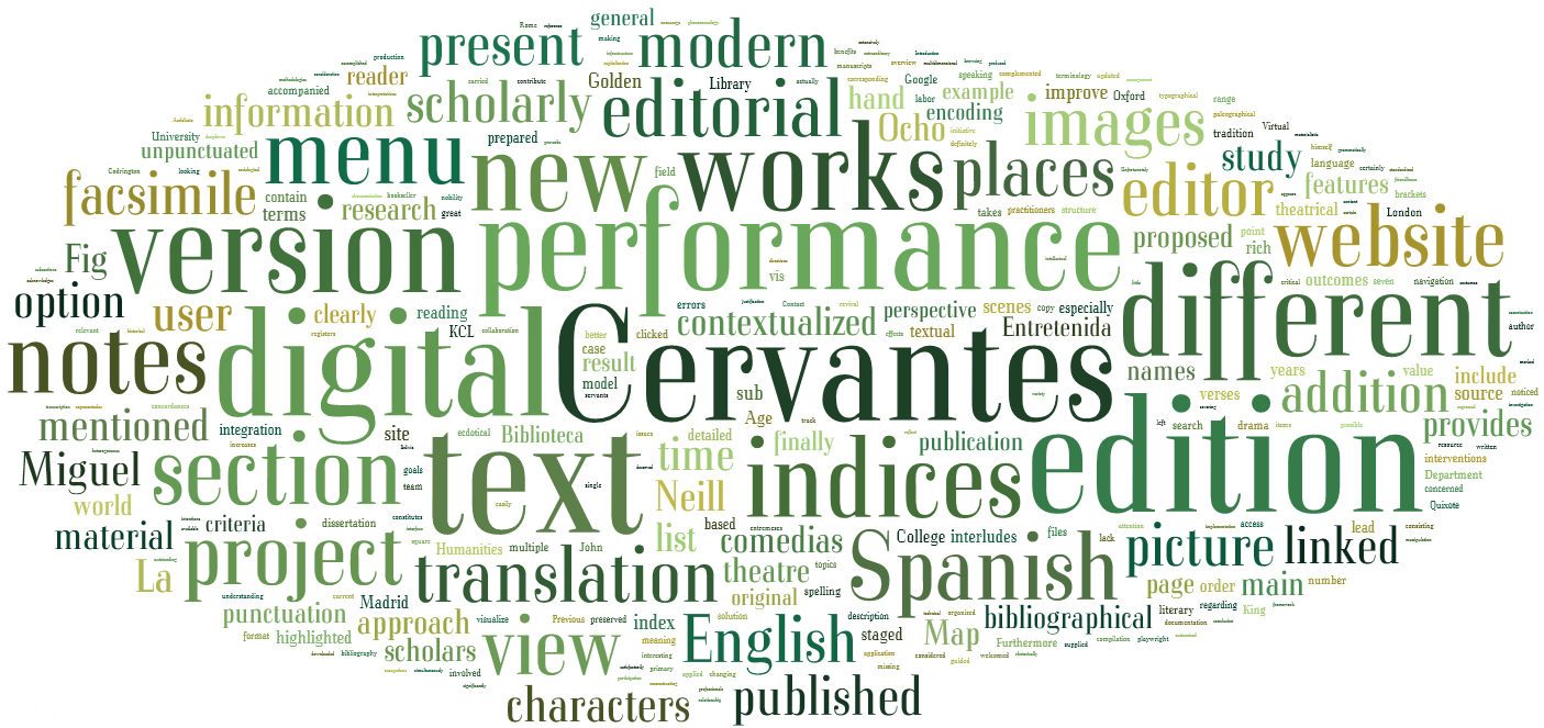 Cervantes and the Golden Age Theatre: First Attempts Towards a Digital Scholarly Editorial Model