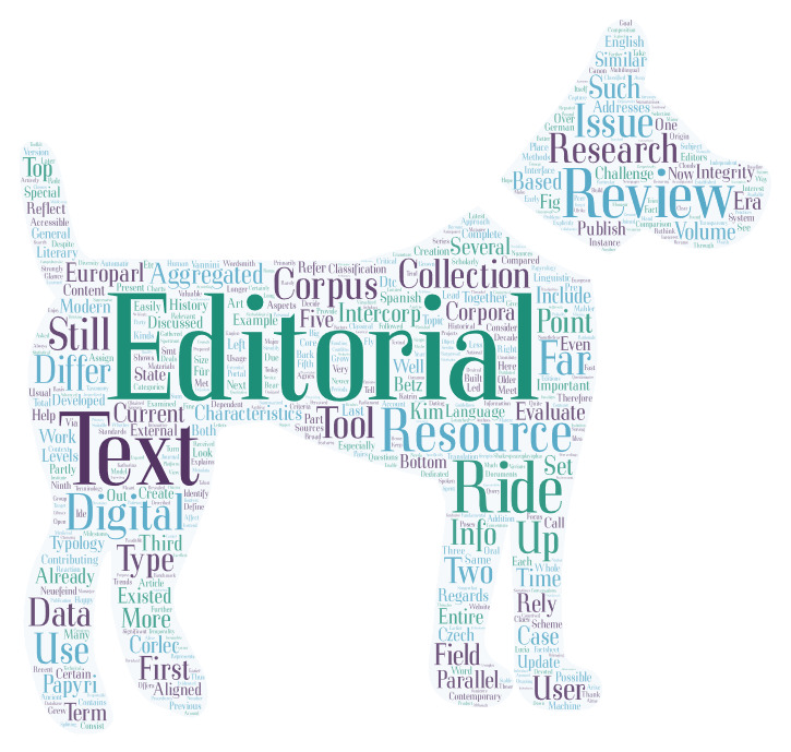 EDITORIAL: Digital Text Collections, the third