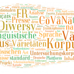Varitext und das Corpus des variétés nationales du français